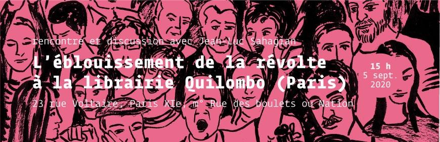 Bandeau pour Quilombo : Rencontre L'éblouissement de la révolte