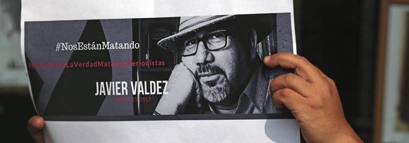 Hommage au journaliste mexicain Javier Valdez